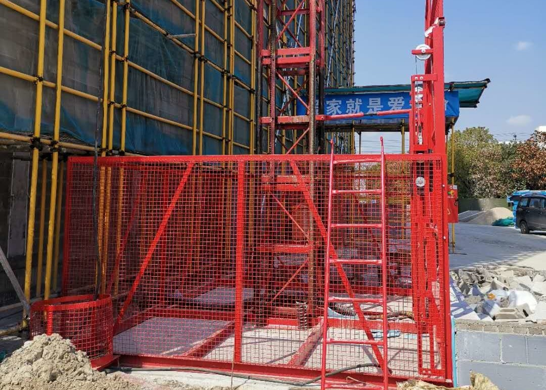 High Safety Construction Passenger Hoist / Material Hoist Construction